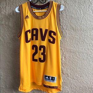 James  Cavaliers Adidas Mens Swingman Jersey